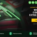 Unibet Live casino verdeeld €100.000 in de tombola