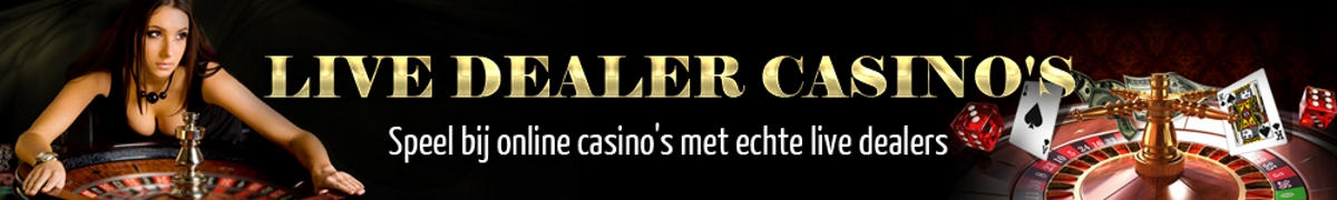 Live dealer casino Belgie